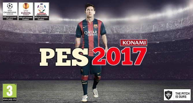 Download pes 2017 one link 4. 8 gb mediafire and torrent pes17.